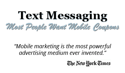 Text Message Marketing Text Message Marketing for Restaurants