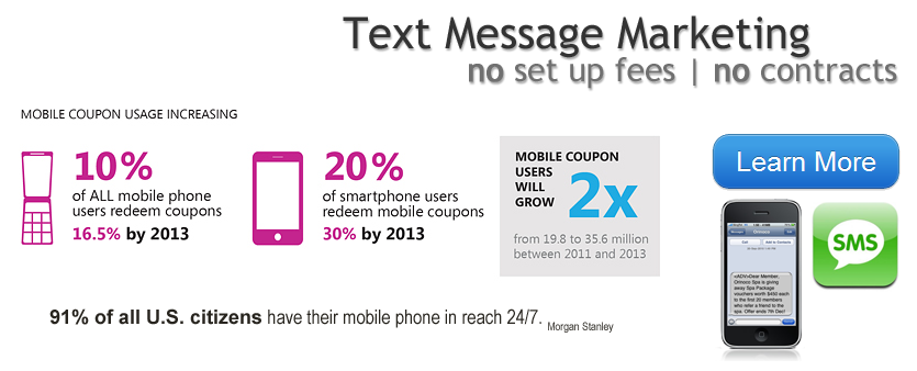 Text Message Marketing Mobile Development and Marketing